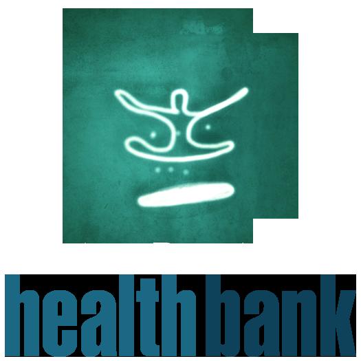 HealthBank – Yoga Studio and Sound Spa Logo